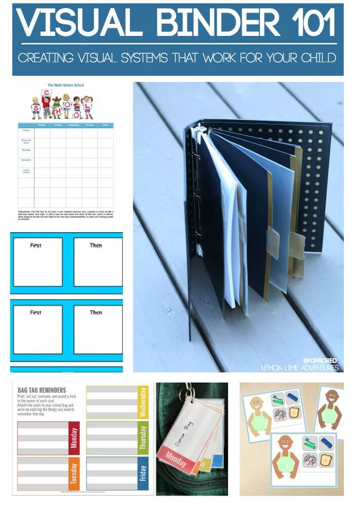 Visual Binders Systems that work for your child