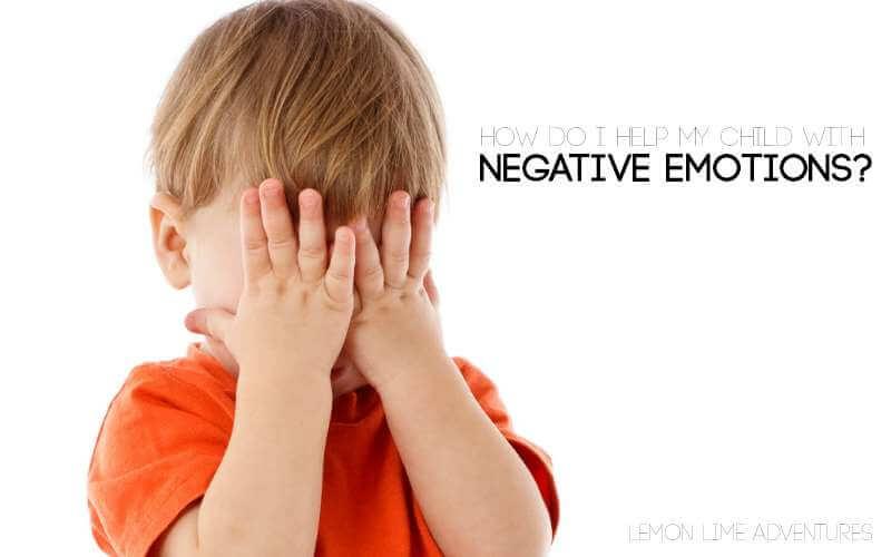 kids negative emotions FB