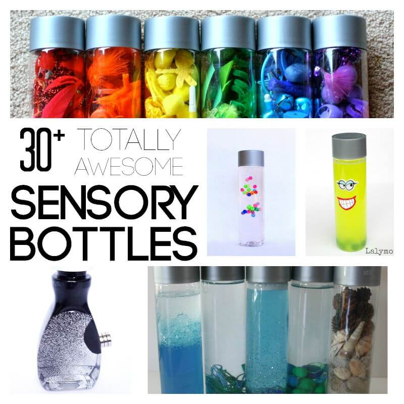 30 Totally Awesome Sensory Bottles For Kids