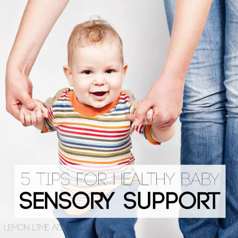 5 awesome ways to support healthy vestibular processing in infants. Wow, these tips are so simple, yet effective.