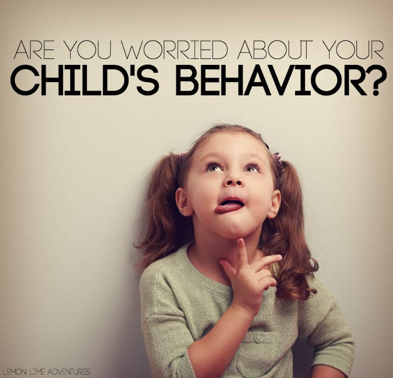 Are You Worried About Your Childs Behavior