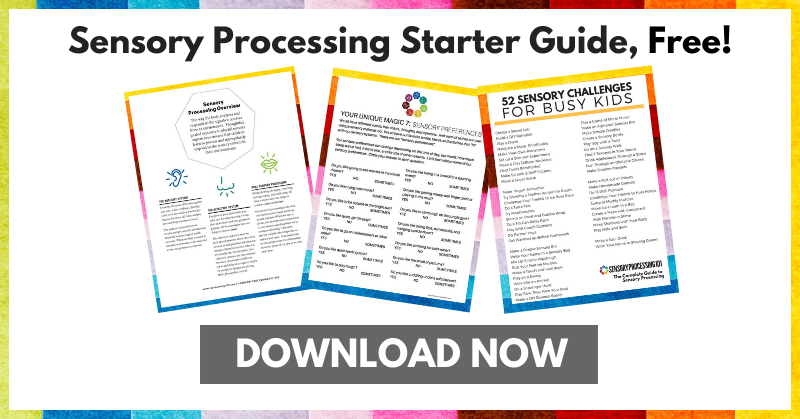 Sensory Processing Starter Guide Download