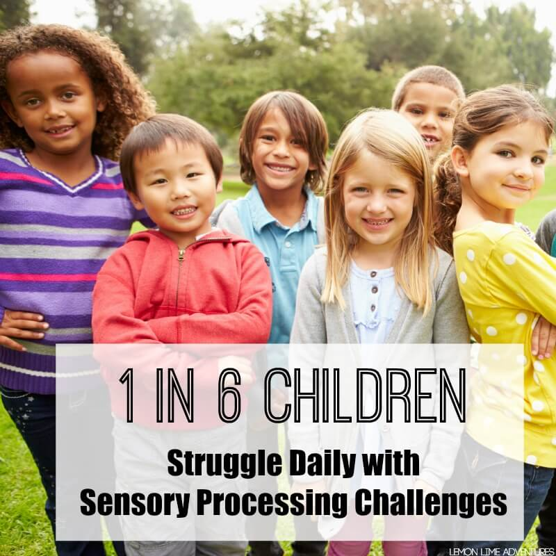 1 in 6 Children Struggle Daily with Sensory Processing Disorder