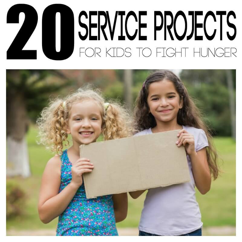 20 Service Projects for Kids