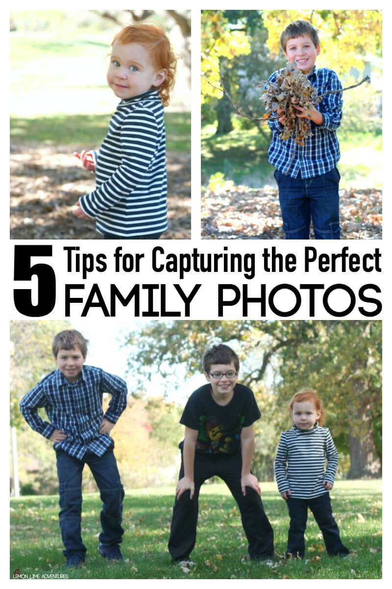 5 Tips for Capturing the Perfect Family Photos