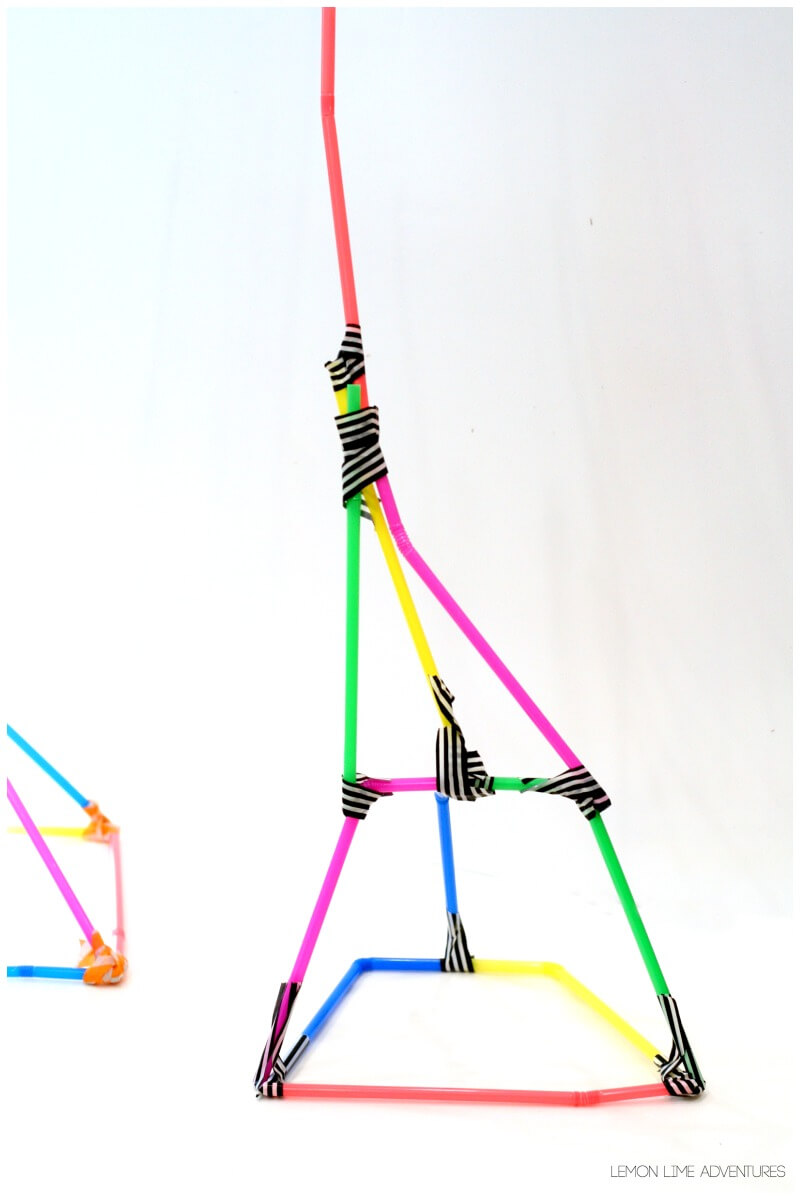 Building with Straws Challenge