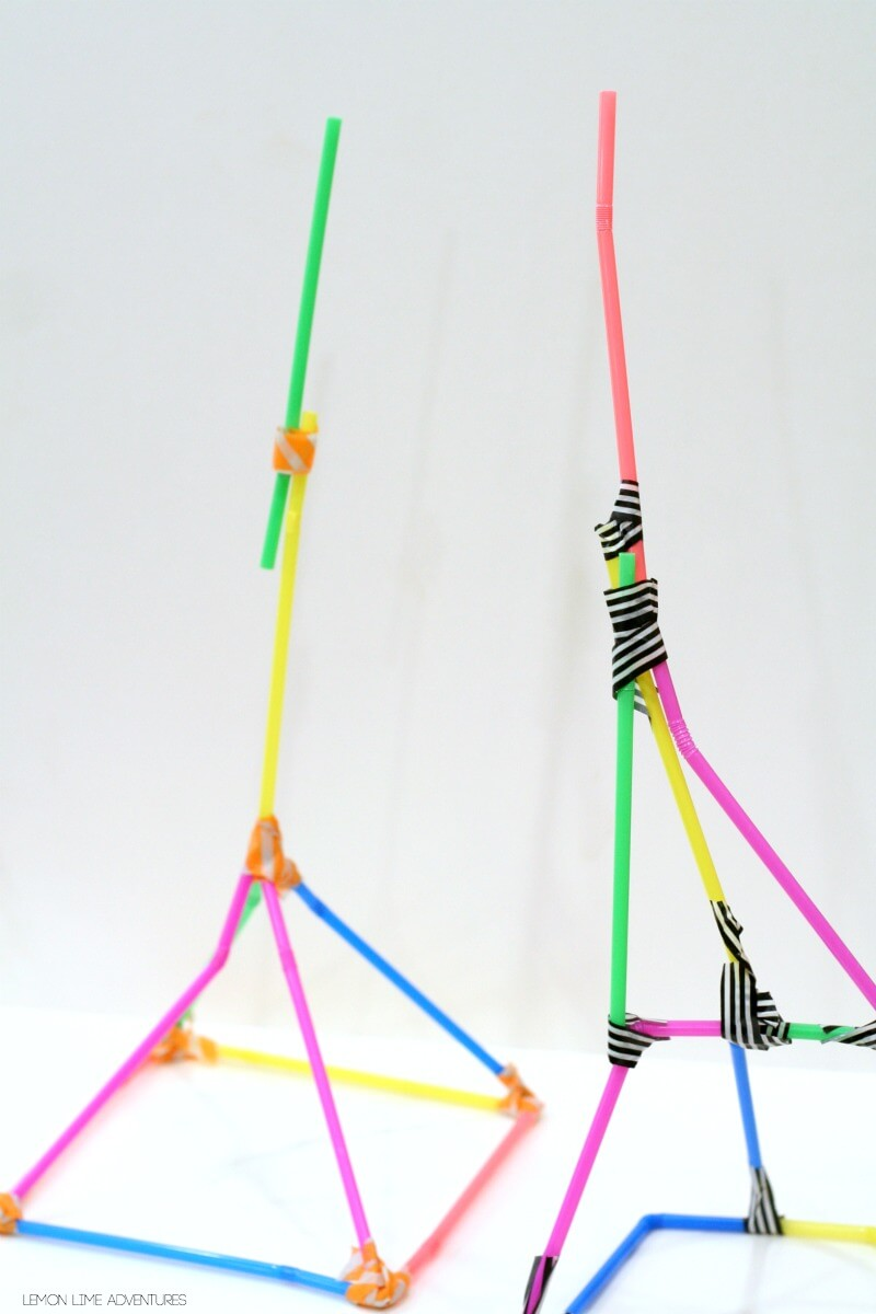 Building with Straws