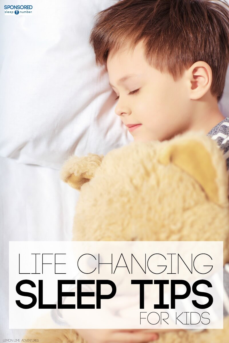 Life Changing Sleep Tips for Kids