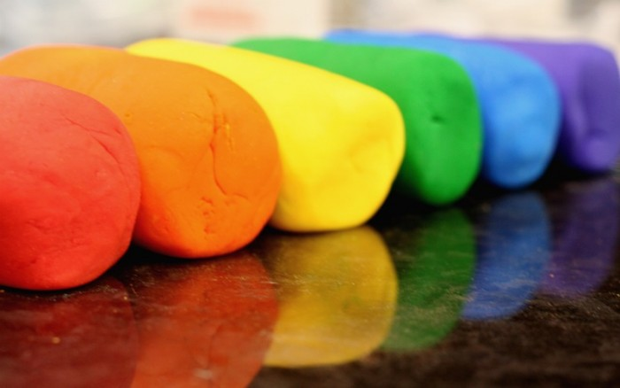 Rainbow Soda Dough Simple Recipe