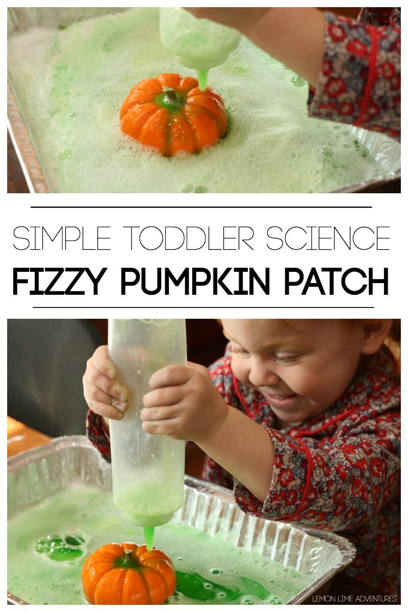 Simple Toddler Science Fizzy Pumpkin Patch