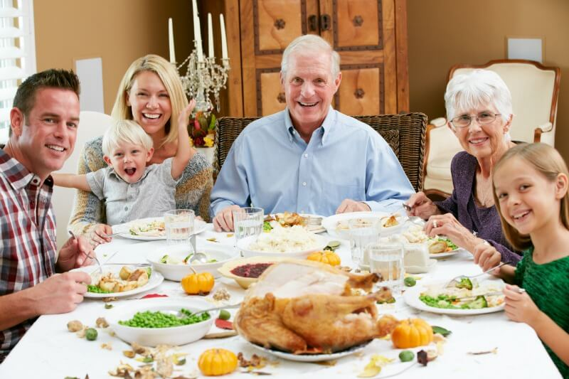 Top 10 tips for avoiding sensory overload at thanksgiving for What do people eat on thanksgiving