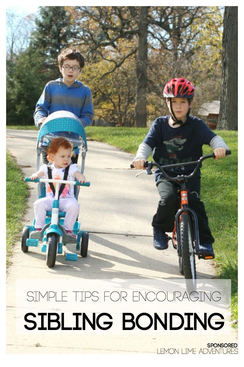 Simple Tips for Encouraging Sibling Bonding