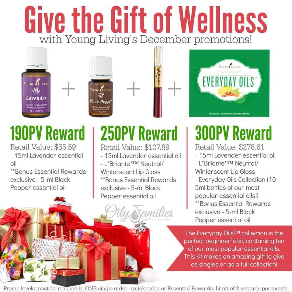 December Promo Young Living