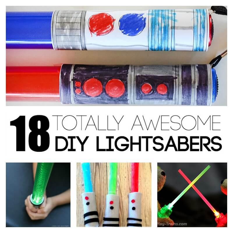 26 Awesome Diy Gifts Ideas Will Totally Impress: 18 Totally Awesome DIY Lightsabers