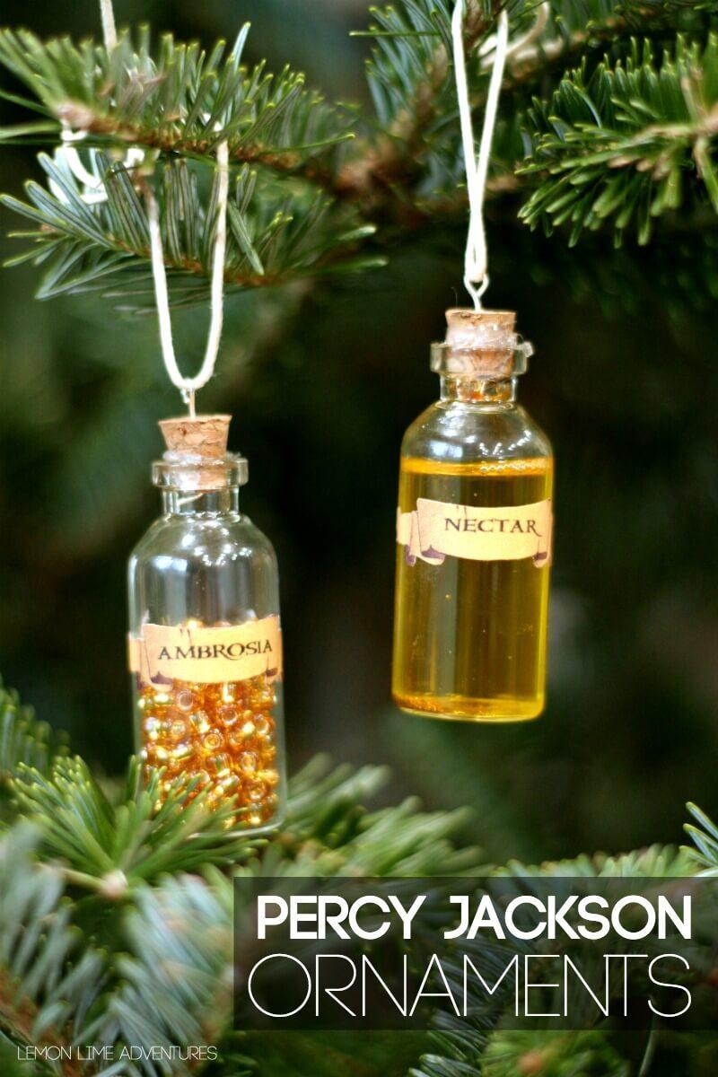 DIY Percy Jackson Ornaments