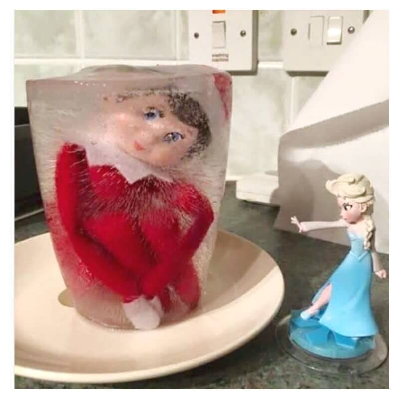 End Elf on the Shelf with Elsa