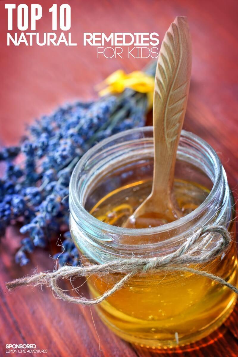 Top Ten Natural Health Remedies for Kids
