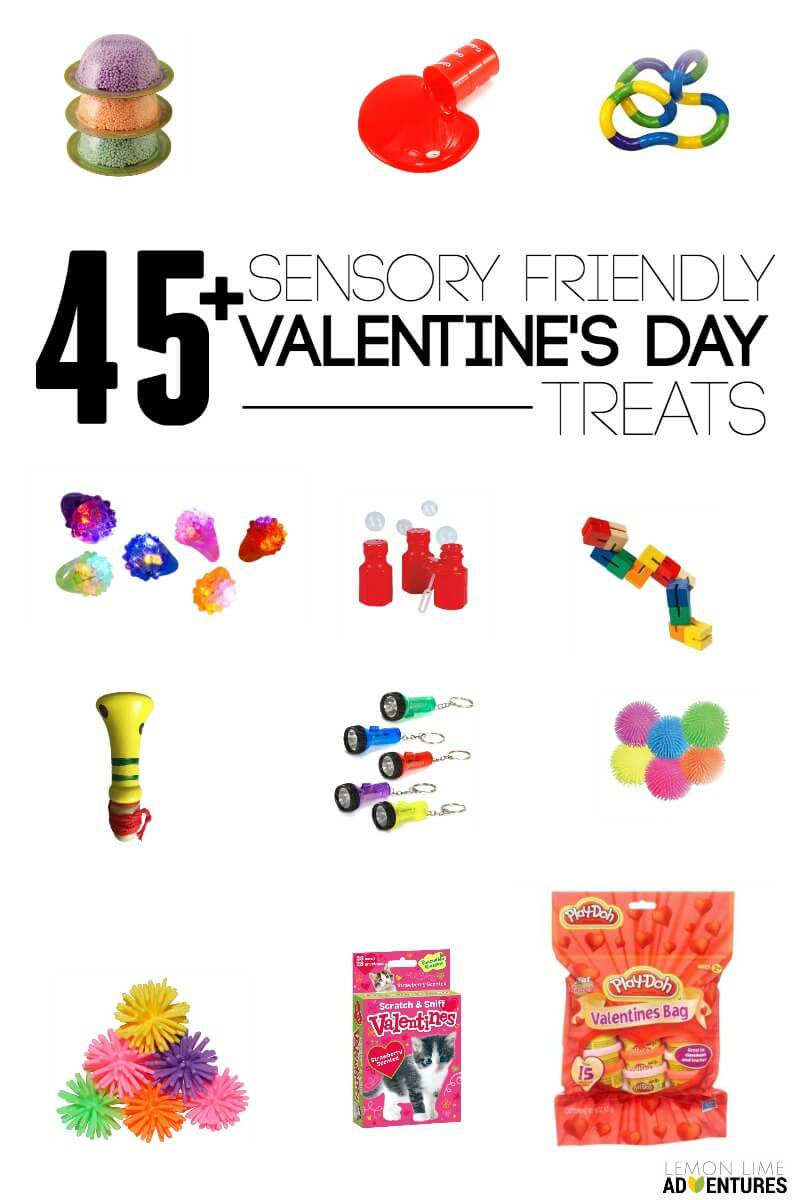 45 Sensory Friendly Valentines Day Treats