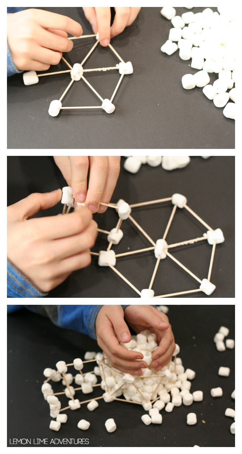 Building Igloos with Marshmallows