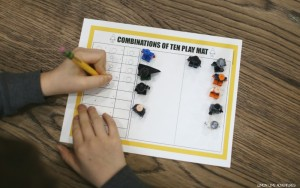 Learn with Lego | Combinations of Ten Printable Using Lego Figures