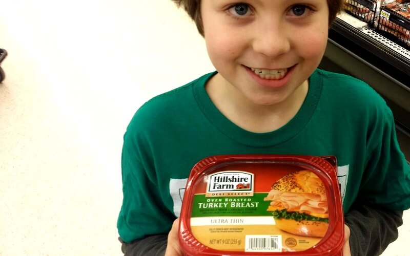 HIllshire Farms Turkey Lunch Meat