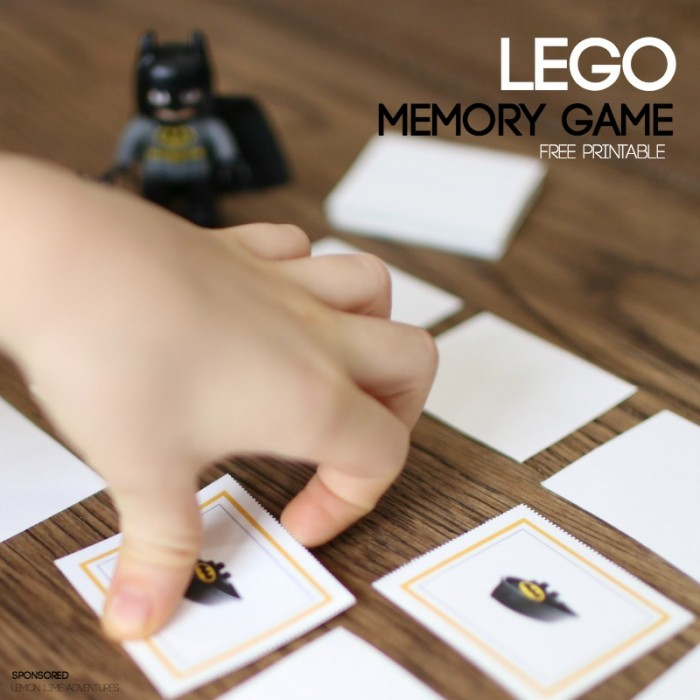 Lego Memory Game Free printable