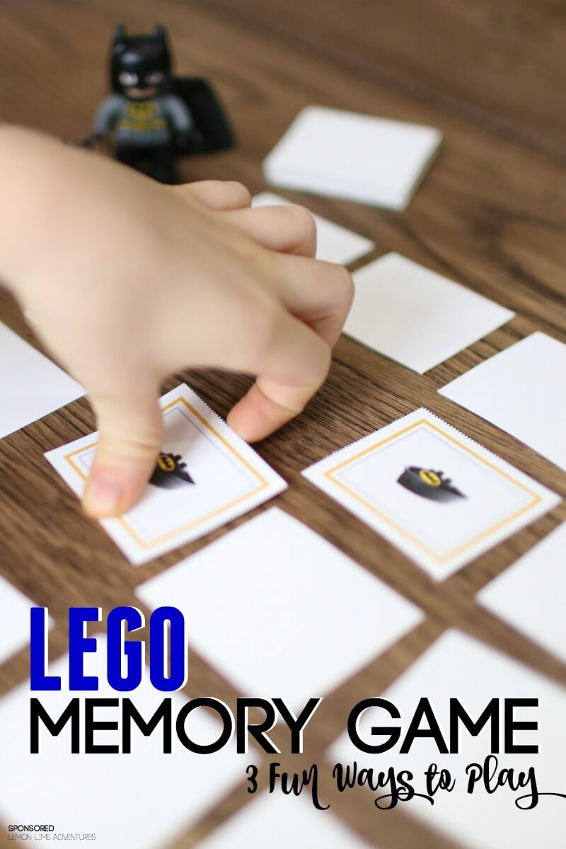 photograph regarding Printable Memory Games for Adults known as Tremendous Hero Lego Memory Match
