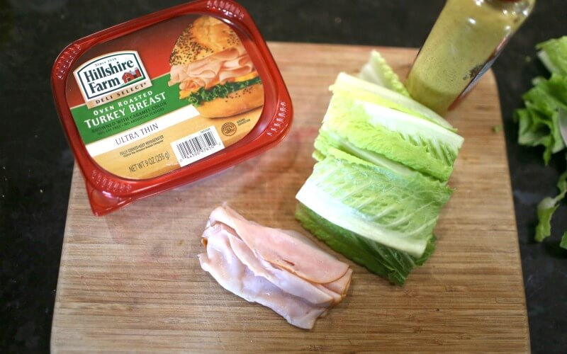 Materials for simple Lunch Hack