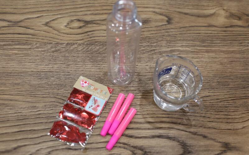 Simple Calm Down Glitter Jar