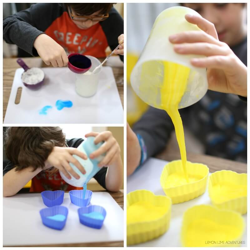 Simple Recipe for Frozen Oobleck