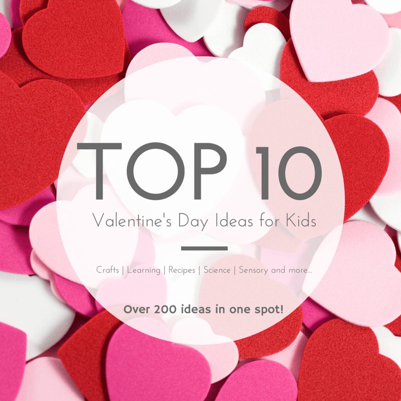 TOP 10 Valentine's Day Ideas for Kids