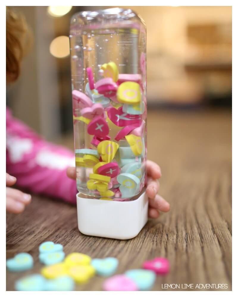 Toddler Suspended Sensory Bottle
