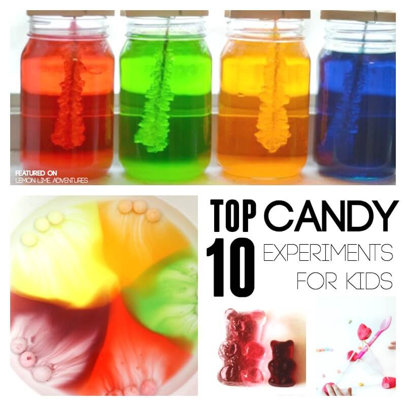Top ten Candy Experiments for Kids