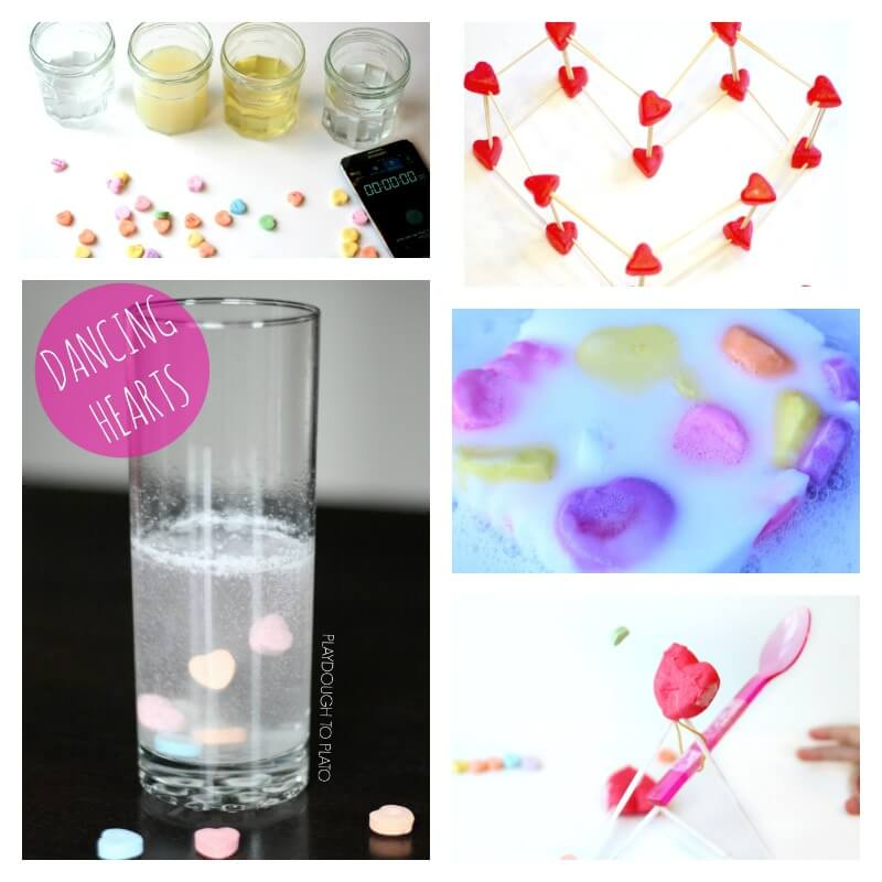 Valentines Day Candy Experiments
