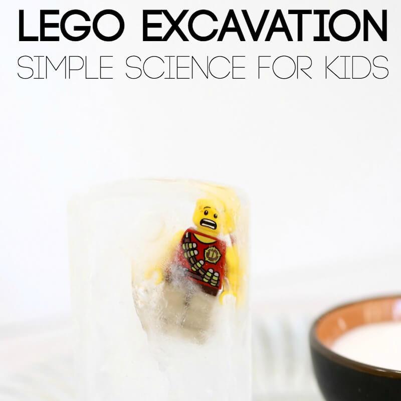 lego Excavation Simple Science