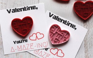 A-MAZE-ing Sensory Friendly Valentine Printable