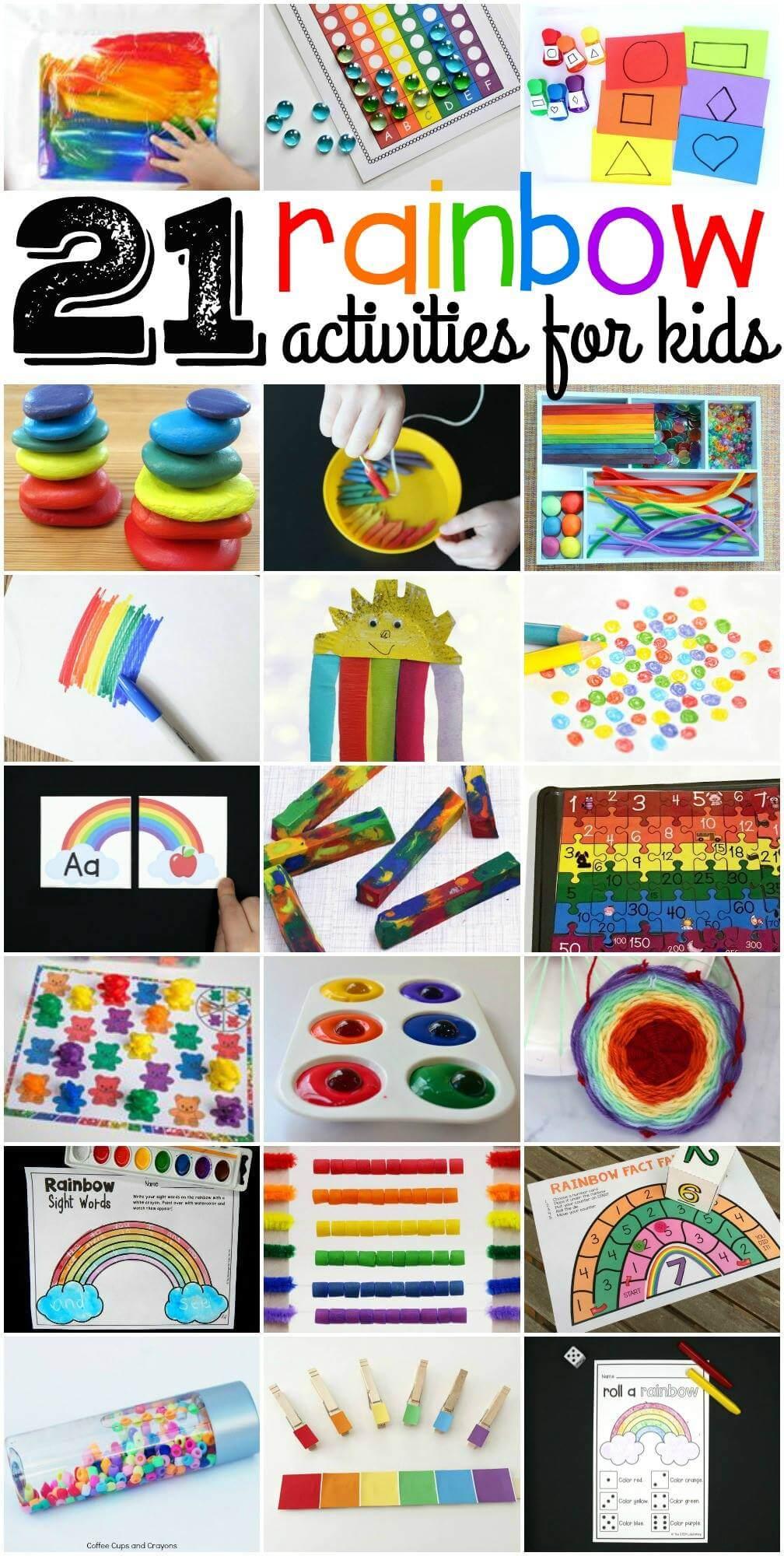 21 Rainbow Activities for Kids