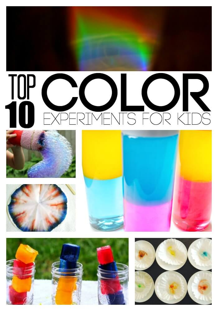 Color Experiments for Kids