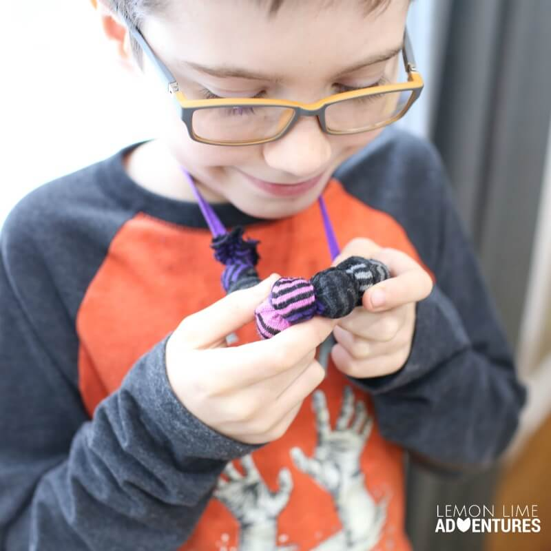 DIY Chewable Necklace for Older Kids