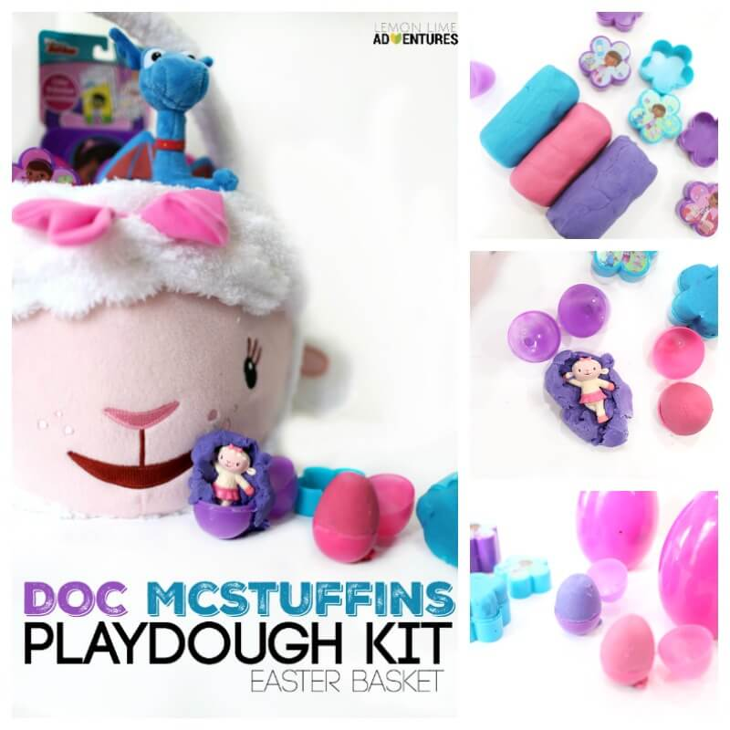 Doc Mcstuffins Easter Basket Ideas for Kids who Love playdough