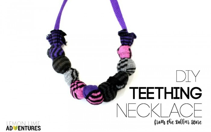 Featured DIY Teething Necklace
