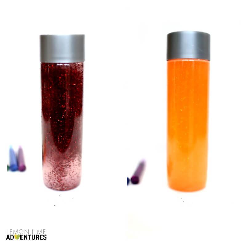 How to Make Glitter Calm Down Jars