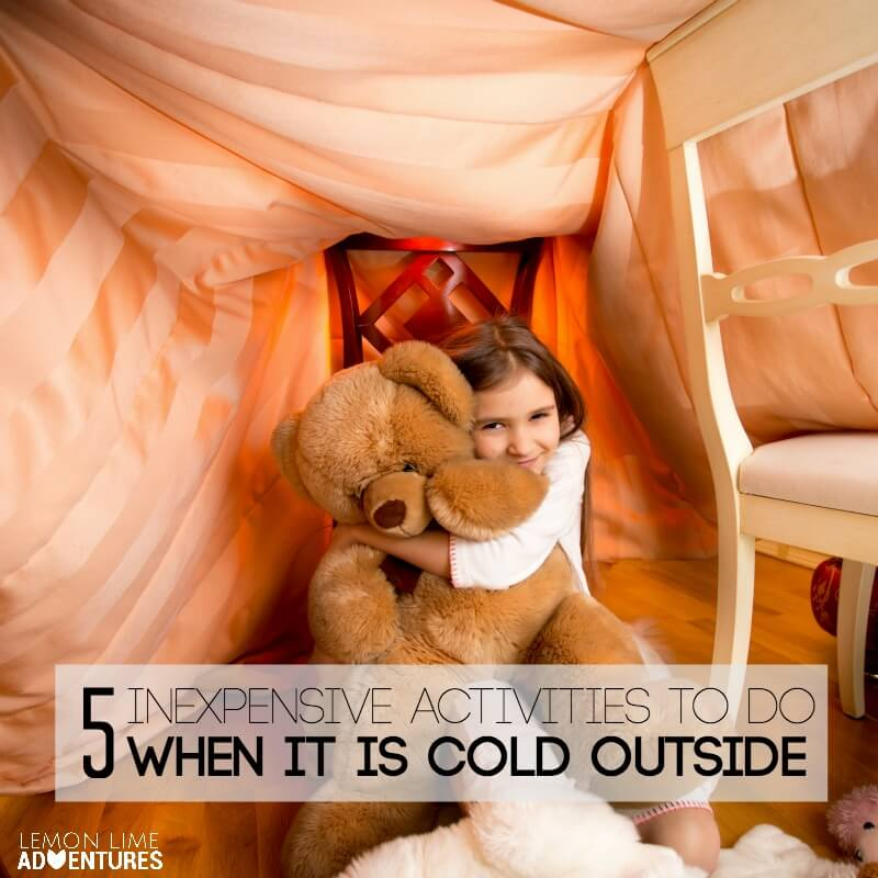 Indoor Inexpensive activities for when it is cold outside