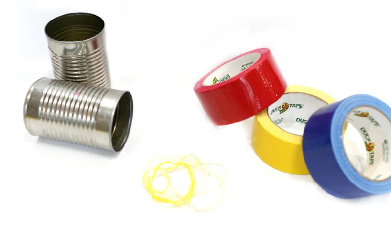 Materials for DIY Can Telephones