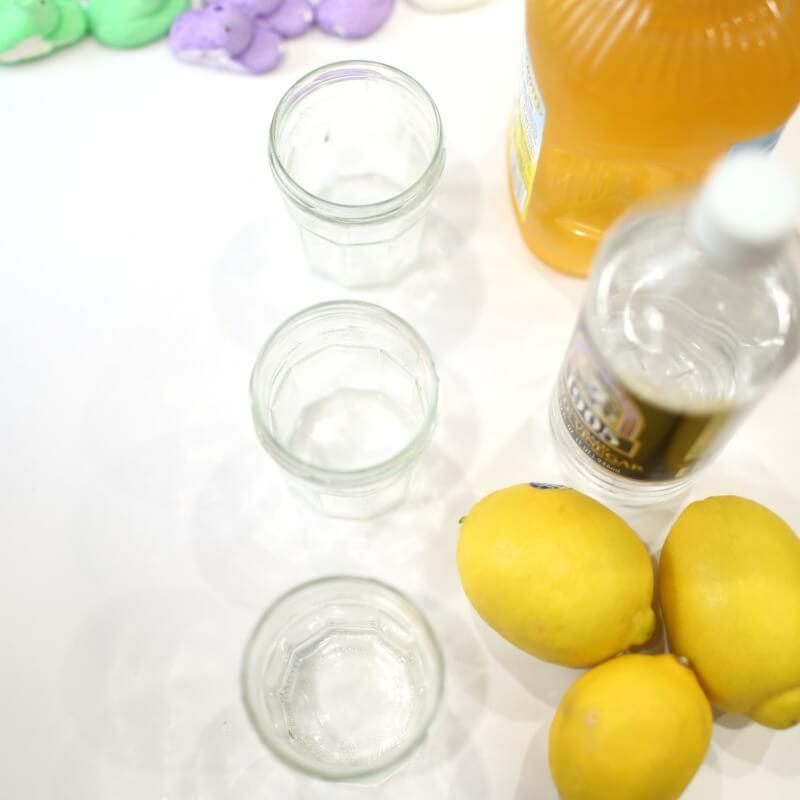 Dissolving Peeps Experiment materials