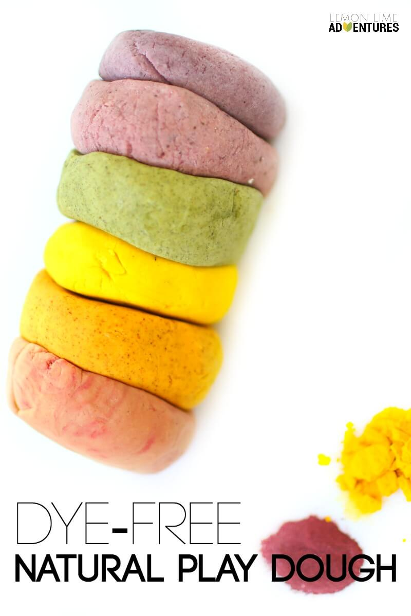 Dye Free Natural Play Dough