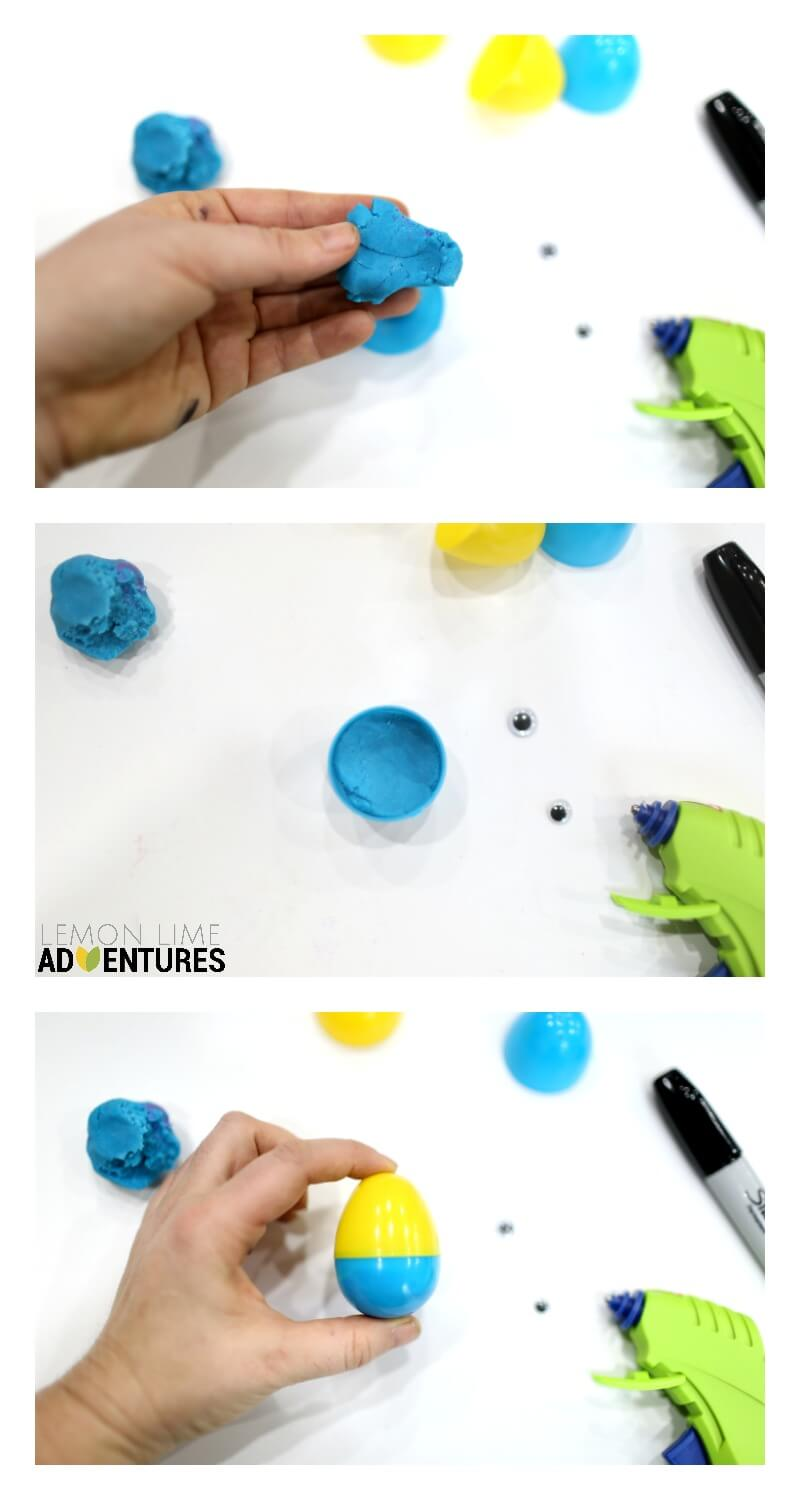 How to Make Minion Weeble Wobble Easter Eggs