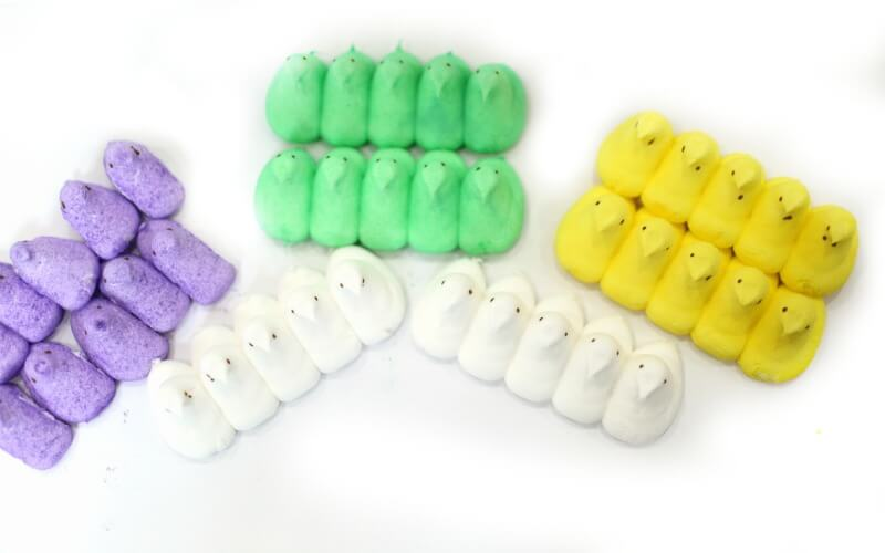 Peeps Stacking Materials