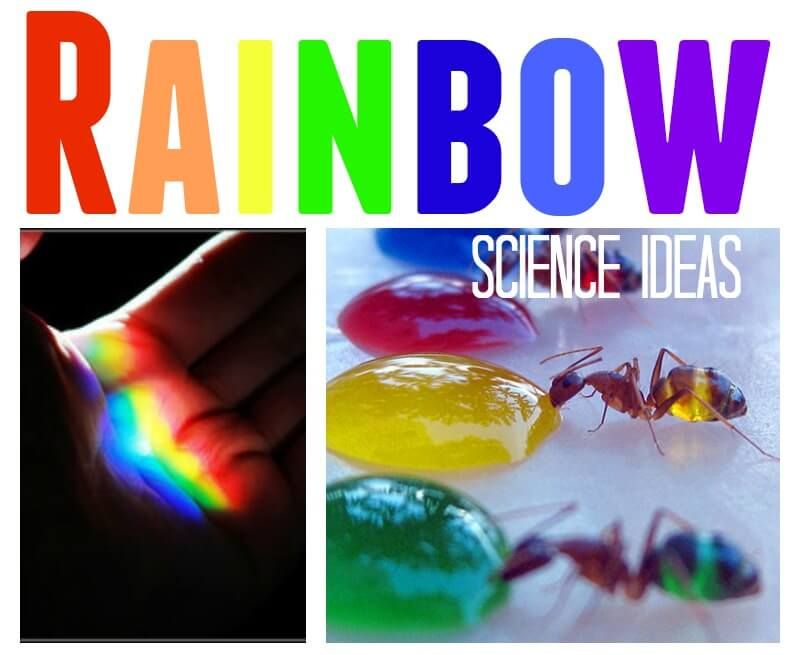 Rainbow Science Ideas