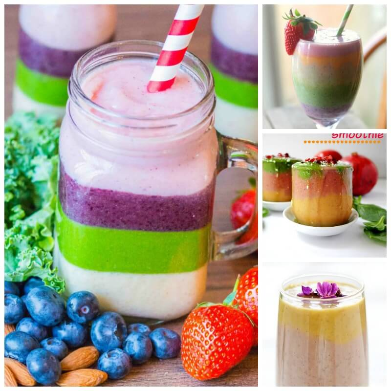 Rainbow Smoothie recipes